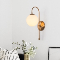 Бра LED Bell D15/H46 Copper