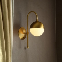 Бра LED Bell D15/H46 Gold