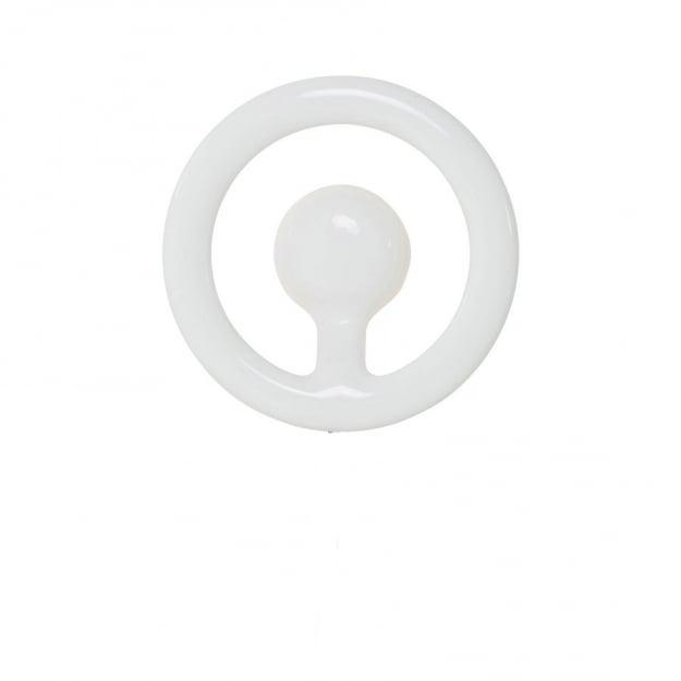 Бра LED Clip Round White
