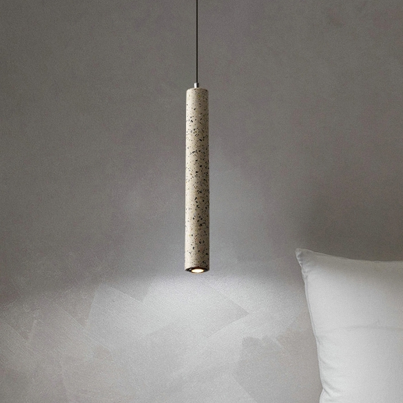 Подвес LED Beton White H30/D4