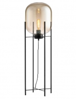 Торшер Glass Oval Amber H155