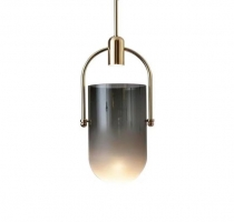 Подвес LED Pot Gold/Black D18