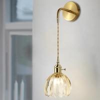 Бра Estelle Amber Light/Gold D12