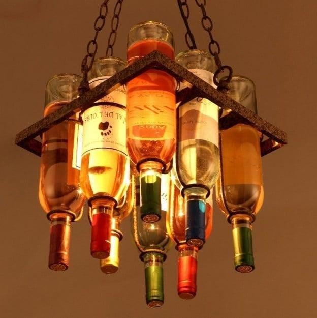 Люстра Bottles H34/W30