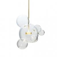 Подвес LED Bubbles Clear 5+1 H50/D46