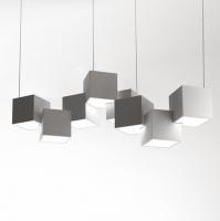 Люстра LED Cubes White W65