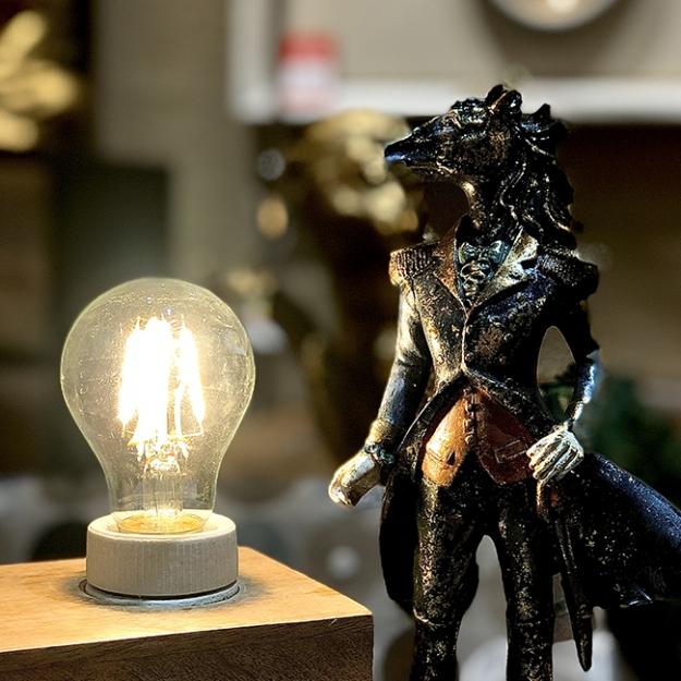 Лампа LED A60 4W 2700K