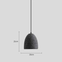 Подвес LED Beton Chalice Black D18