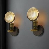 Бра Industrial Bar Gold/Black H29