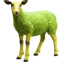 Декоративный объект Sheep Colore Green