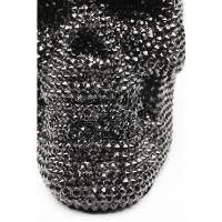Декоративный объект Crystal Skull Black