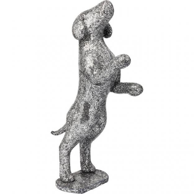 Декоративный объект Crystal Begging Dog