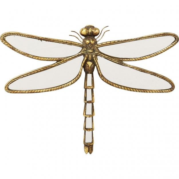 Настенный декор Dragonfly Mirror 35cm