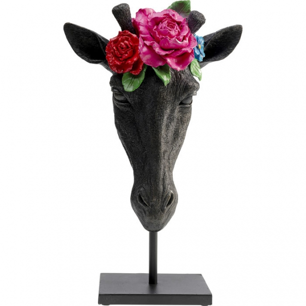 Декоративная фигура Mask Giraffe Flower