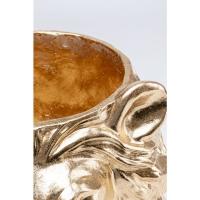 Кашпо декоративное Lion Gold