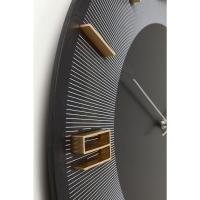 Часы настенные Leonardo Black/Gold