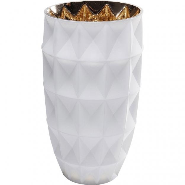 Ваза Precious Triangle White 25cm