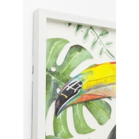 Картина Frame Art Paradise Bird Single 70x50cm