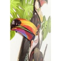 Картина Frame Art Paradise Bird Couple 70x50cm