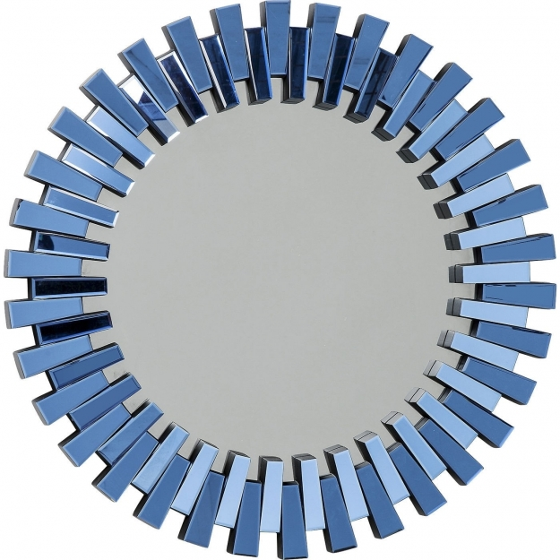 Зеркало Sprocket Blue Ø92cm
