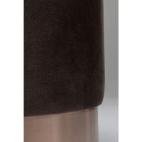 Пуф Cherry Dark Brown Copper Ø35cm