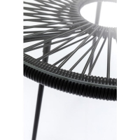 Столик Acapulco Black Ø50cm