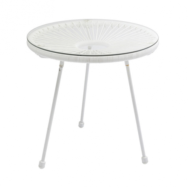 Столик Acapulco White Ø50cm