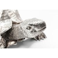 Декоративный объект Turtle Silver Small