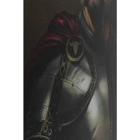 Картина на стекле Knight Cow 120x120cm
