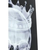 Картина Glass Crown Skull 120x80cm