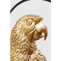 Декоративная фигура Swinging Parrot Gold