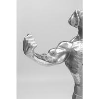 Статуэтка Muscle Dog Silver