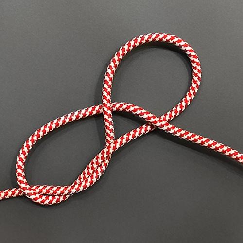 Провод в тканевой оплетке Red/White