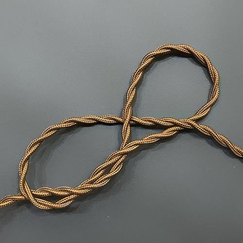 Провод витой в тканевой оплетке Gold