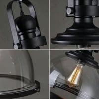 Подвес Loft Glass d30 h42см