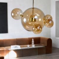 Подвес LED Bubbles Amber 5+1