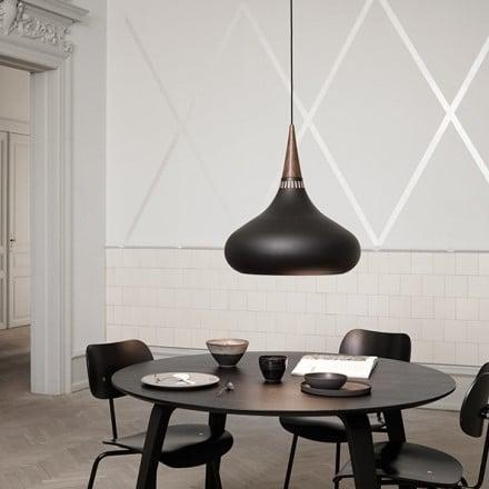 Светильник потолочный Orient Black d22см