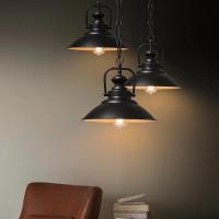 Подвесной светильник Retro Black d31см