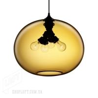 Подвес Loft Glass Amber D40/H30