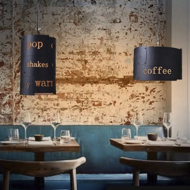 Светильник потолочный Coffee d35 H22,5см