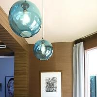 Подвес Loft Glass Blue  D25/H25