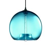 Подвес Loft Glass Blue  D30/H27