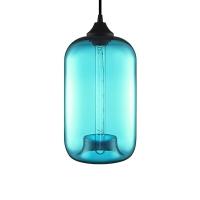 Подвес Loft Glass Blue  D18/H31