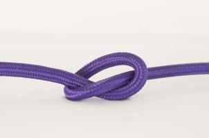 Провод в тканевой оплетке Purple