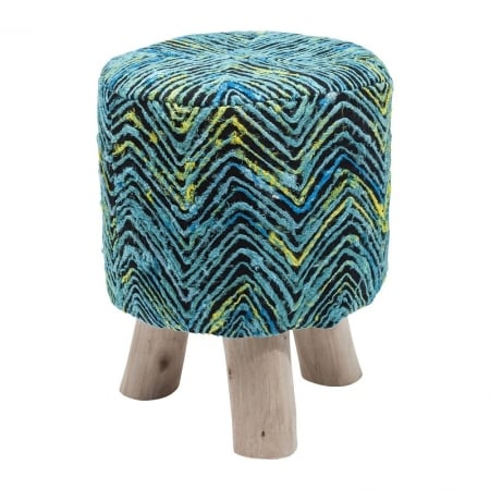 Stool Sunset Blue