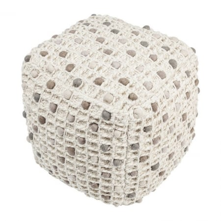 Pouf Pebbles Nature 45x45cm