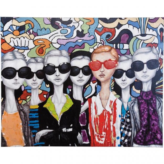 Картина Sunglasses 120x80cm