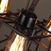 Люстра Rectangle Spider на 8 плафонов