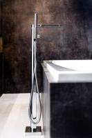 Смеситель для ванны RAVAK Chrome напольный