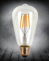 Лампа Эдисона LED диммируемая ST64 4w 2700K